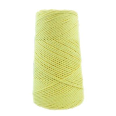 algodón peinado color amarillo pálido