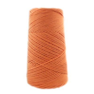 algodón color naranja