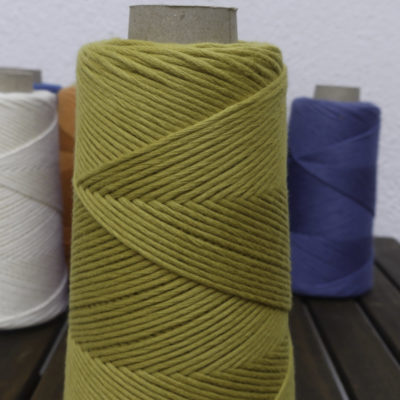 hilo de algodón peinado