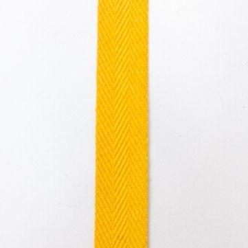 asa de algodón amarillo
