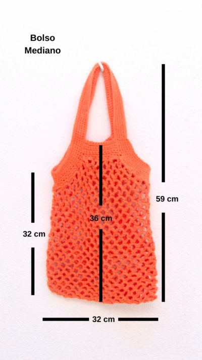 bolso red mediano