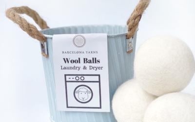 Bolas de lavado, el sustituto ecológico al suavizante de ropa