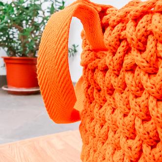 asas de cesta de algodón