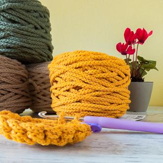 ovillos de cordón de algodón